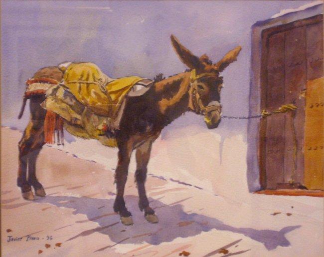 Algunas pinturas del Dr Franco